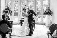 Julie and Martin at Burley Manor and Highcliffe Castle